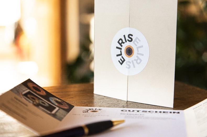 Eliris Geschenk-Gutscheine für ein Iris Shooting