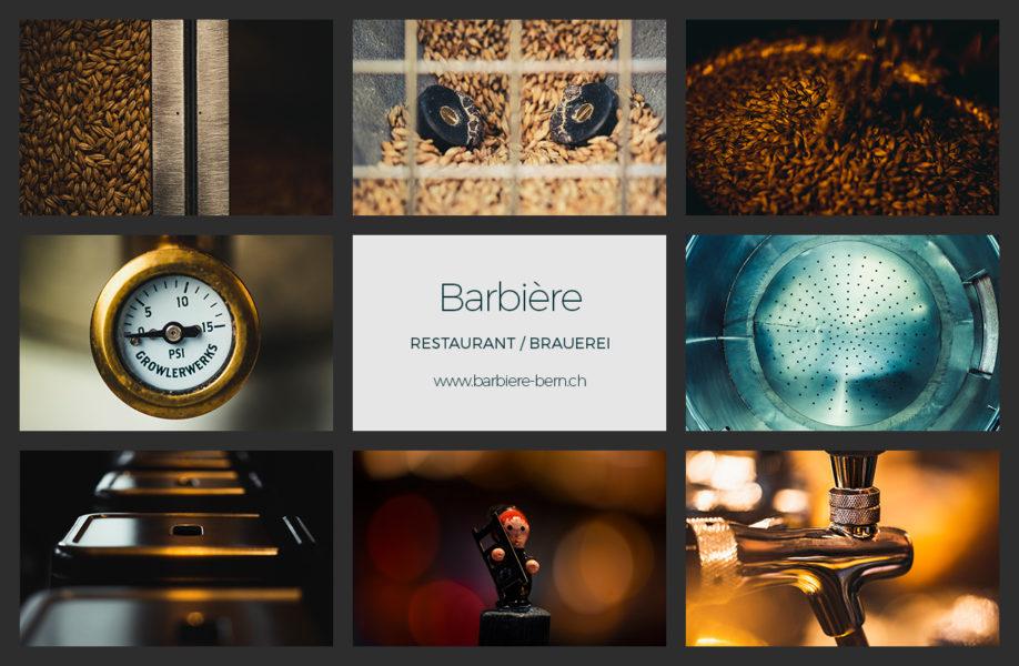 Kunst vom Ort für den Ort, Detailkunst im Barbière, Breitenrain, Bern